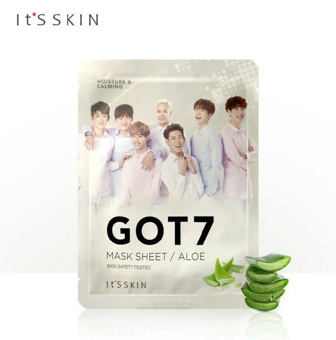 It's Skin GOT7 Aloe Mask Sheet 18 g.