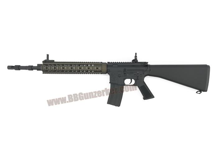E&C 316S : MK12 SPR Mod1 สีทราย บอดี้เหล็ก JR.Custom Gen 3