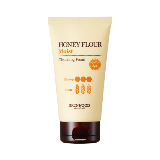 Skinfood Honey Flour Cleansing Foam #Moist 150ml.