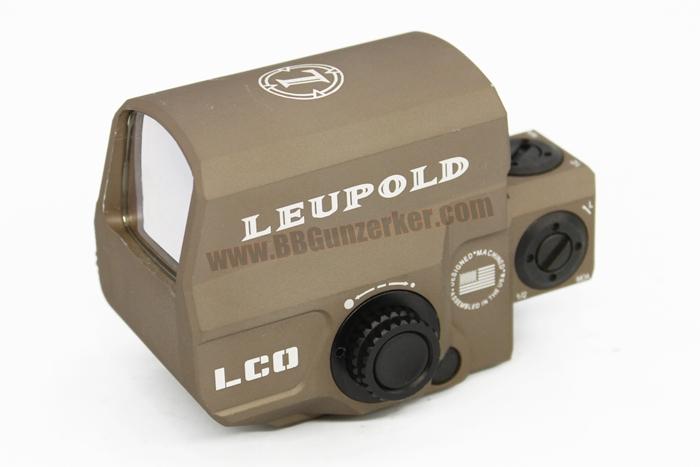 Red Dot Leupold Carbine Optic (LCO) สีทราย