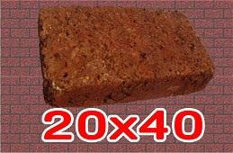 หินศิลาแลง ขนาด20x40เซนติเมตร