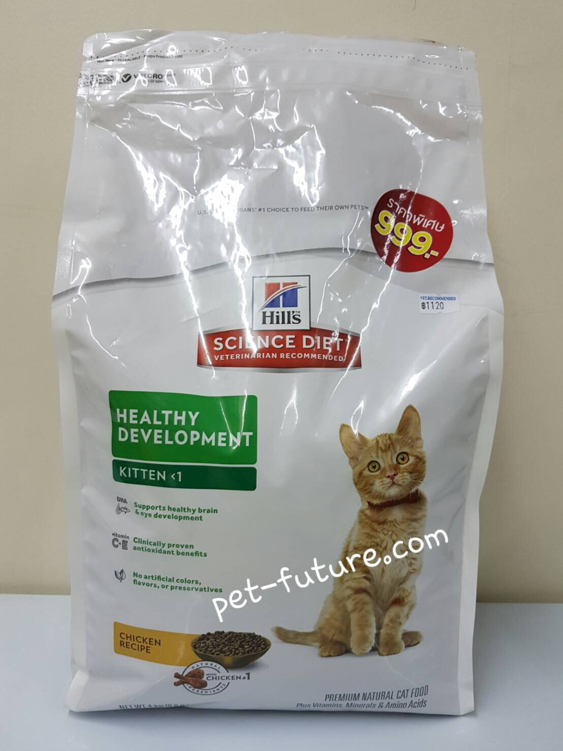 Kitten Healthy Development 4 kg.