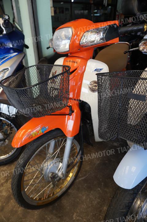 # DREAM SUPER CUB ปี58 สตาร์ทมือ แต่งสวย เครื่องดี สีส้มสุดแนว ราคา 29,500