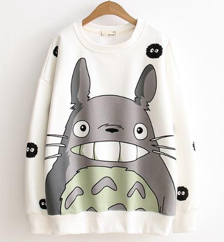 เสื้อกันหนาวแฟชั่นญี่ปุ่น(ขาว-ชมพู-เทา)