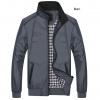 fashion เสื้อแจ๊คเก็ตไซส์ใหญ่ชาย สีเทา (รอสินค้า15-20วัน)