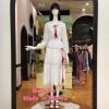 Daisy Sunshine Skirt Brand : Sretsis Detail >> กระโปรงเอวสูงทรงเอ เนื้อผ้าเป็นผ้าฉลุลายดอกไม้ทั่วทั้งตัว