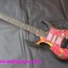 กีต้าร์ไฟฟ้า lbanez 7v rose
