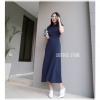Knit maxi dress เดรสนิตติ้งตัวยาว ทรงเ