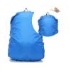 ผ้าคลุมกันน้ำฝนสำหรับกระเป๋าทรงเป้ 25-30L สีฟ้า