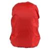 ผ้าคลุมกันน้ำฝนสำหรับกระเป๋าทรงเป้ สีแดง