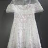 White Pearl Sequin Mini Dress Brand : La Boutique Styled : คุณน้ำตาล เดรสสั้นกระโปรงบานทรงวงกลม โดดเด่นด้วยผ้าปักเลื่อมสีขาวมุก เล่นแสงวิบวับไปทั้งตัว โชว์ผิวสวยด้วยการแต่งผ้าแก้วซีทรูที่ช่วงคอเสื้อและไหล่ คัตติ้งเนี้ยบ ขึ้นแบบจากงานต้นฉบับ ใส่ได้ในงานเลี