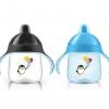 ขวดหัดดื่มแบบจุก เพนกวิน 9oz - 12m+ (มีสีฟ้า-ดำ,ชมพู-ดำ,ฟ้า-เขียว,ชมพู-ม่วง)