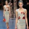 D&G Collection spring2016 Dressสายหนาตัวยาว