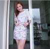 เซทเสื้อกระโปรงลายดอกไม้น่ารักสุดๆ สาวๆห้ามพลาดเด็ดขาดสกรีนลายคอลเลคชั่นสุดน่ารักรับรองสวยเจิด