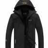 fashion เสื้อแจ็คเก็ตกลางแจ้ง windproof สีดำ (รอสินค้า15-20วัน)
