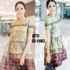 Brand : valentino ชื่อรุ่น : printed dress