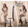 เสื้อเชิ๊ตในสไตล์ chic girl ทรงเชิ๊ต เนื้อผ้า polyester+cotton