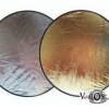 Reflector 60cm (gold and silver)