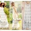 apanese style ,flower dress two-piece, set 2 ชิ้น - เดรสแขนกุดตัวในผ้าคอตตอน ยืดได้