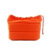 นวมในกระเป๋ากล้องกันกระแทก สีส้ม
