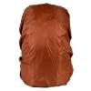 ผ้าคลุมกันน้ำฝนสำหรับกระเป๋าทรงเป้ 25-30L สีน้ำตาล