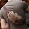fashion กระเป๋าคาดเอว รุ่น CK-5006 สีน้ำตาล (รอสินค้า15-20วัน)