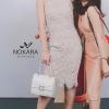 Dress..แขนกุดลูกไม้สีขาวซับในสีครีมตัวชุดเ