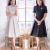 Thai Contemporary Short Sleeve Dress
