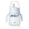 ถ้วยหัดดื่ม AVENT จุกนิ่ม สีขาวลายกระต่าย สำหรับ 4M+