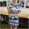 เดรสพิมพ์ลายวินเทจ Isabel Vintage Glam Mixed Print Mini Dress มินิเดรสพิมพ์ลายวินเทจสุดชิค