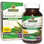 Nature's Answer, Horsetail Grass, 450 mg, 90 Veggie Caps หญ้าหางม้าสมุนไพรดึกดำบรรพ์ ลดความมันบนหนังศรีษะ กระตุ้นให้ผมงอกใหม่ เสริมความแข็งแรงให้เส้นผม