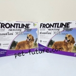 Frontline Plus for dogs weight 20-40 kg Exp.02/20 จำนวน 2 กล่อง จัดส่ง ฟรี