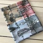 ผ้าพันคอ ผ้าคลุม ซาติน 70*70 ST05-027