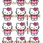 Wafer topper kitty 5