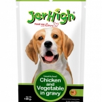 เจอร์ไฮ ไก่และผักในน้ำเกรวี่ ขนาด 120 g.