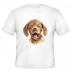 เสื้อยืดพิมพ์ลายน้องหมา (Happy Puppy T-Shirt)