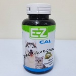 E-Z Cal อาหารเสริมแร่ธาตุและแคลเซ๊ยม กระดูก สำหรับสุนัขและแมว 30 เม็ด (Exp.05/19)