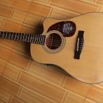 กีต้าร์โปร่งไฟฟ้า Fender CD-140 พร้อม Pickup Fishman