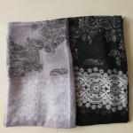 ผ้าคลุม อิสลาม วิสคอส viscose พิมพ์ลาย HJ07037