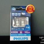 หลอดไฟหรี่ Philips LED 360องศา 6200K