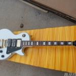 Gibson-coustom-3 สีขาว