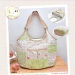 กระเป๋า Peppy Rose Bag (Green)