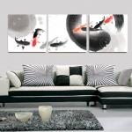 ART-Be ภาพปลามังกร เสริมฮวงจุ้ย