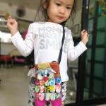 กระเป๋าสะพายนกฮูกเล็ก ขนาด 14 x 21 cm. 4