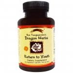 Dragon Herbs, Return to Youth, 500 mg, 100 Veggie Caps สมุนไพรสูตรพิเศษช่วยย้อนวัยกลับไปเป็นหนุ่มสาวอีกครั้ง ช่วยย้อนในทุกระบบของร่างกายให้ทำงานดีขึ้น