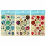(1แผ่น/ชุด) สติ๊กเกอร์ลายดอกไม้ Designers Guild - Flower Collection Stickers