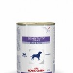 Sensivity Duck สำหรับสุนัขรักษาโรคแพ้อาหาร เป็ดและข้าว420 กรัม (กระป๋อง) Exp.01/19