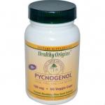 Healthy Origins, Pycnogenol, 100 mg, 60 Veggie Caps รับประทาน pycnogenol 100 mg เพียง 1 เม็ด ออกฤทธิ์ได้ดีกว่าการกิน grape seed ในปริมาณสูงๆ ช่วยปรับสภาพผิวที่หมองคล้ำ กระ ฝ้า สีผิวไม่สม่ำเสมอจากการทำลายของแสง UV