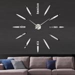 นาฬิกาDIY ขนาดจัมโบ้90cm สีเงิน big4B