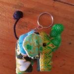 พวงกุญแจช้างน้อย ขนาด 6 x 7 ซม. 4